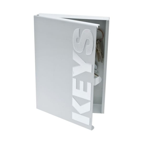 Krabička na klíče Typographic Metal
