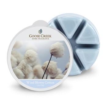 Ceară aromată pentru lămpi aromaterapie Groose Creek Wind Blown Cotton, 65 de ore de ardere