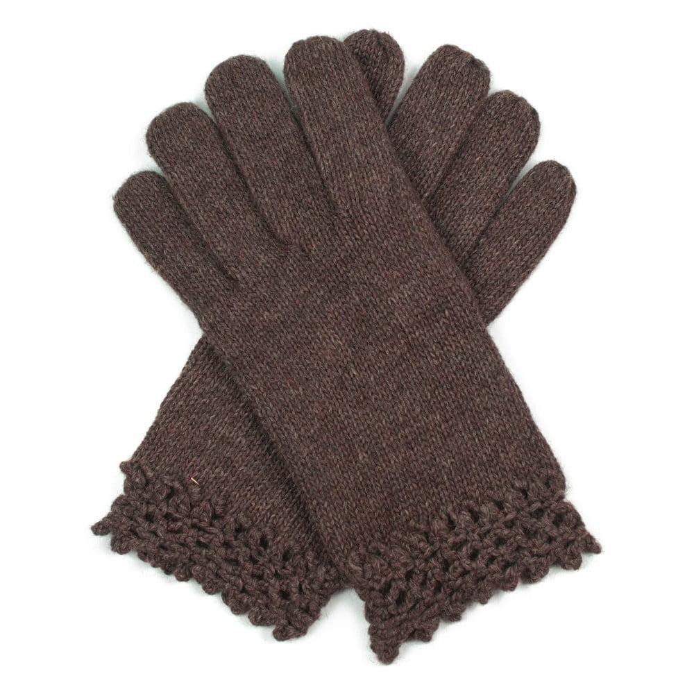 2d44ea83b64 Hnědé dámské rukavice Art of Polo Ursula ...