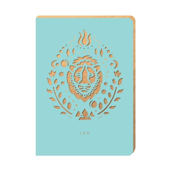 Linkovaný zápisník Portico Designs Lev, 160stránek
