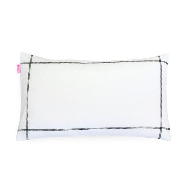 Bavlněný povlak na polštář Happy Friday Basic Black, 50 x 30 cm