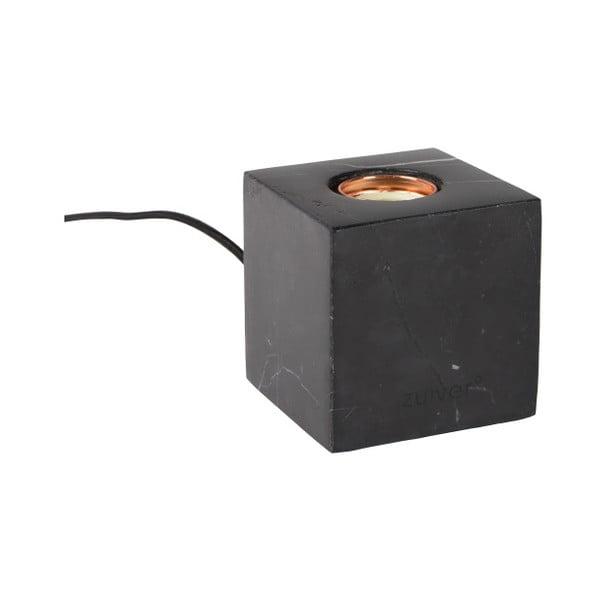 Černá mramorová stolní lampa Zuiver Bolch