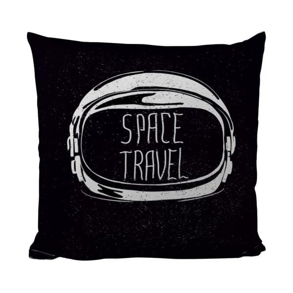 Polštářek Black Shake Space Travel, 50x50 cm