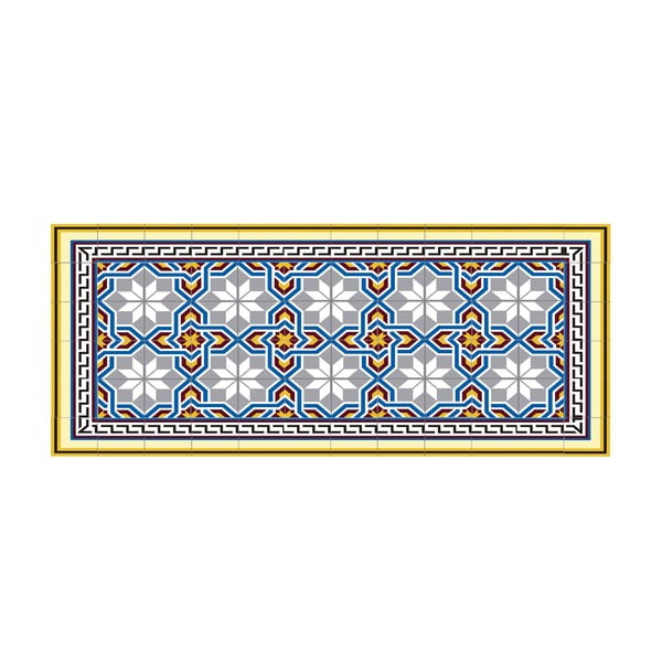 Koberec z vinylu Mosaico, 50x100 cm