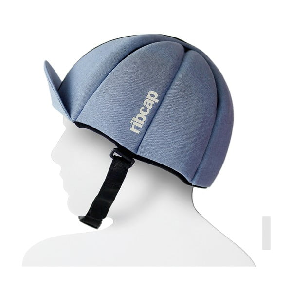 Čepice s ochrannými prvky Ribcap Hardy Azure, vel. L