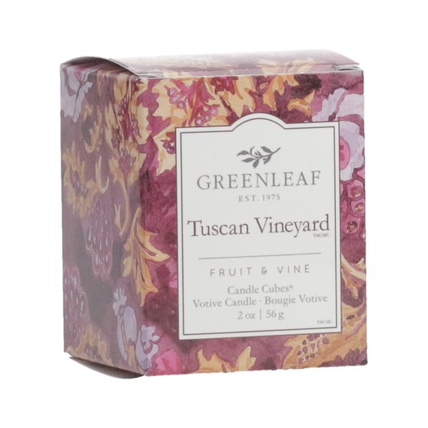 Votivní svíčka Greenleaf Tuscan Vineyard