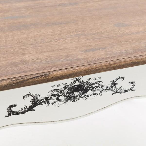 Dřevěný konferenční stolek Wooden