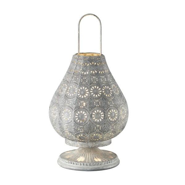 Stolní lampa Jasmin, šedá