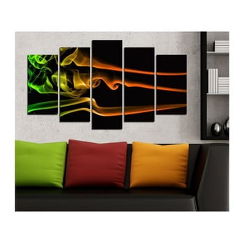 Tablou din mai multe piese 3D Art Galiyado, 102 x 60 cm