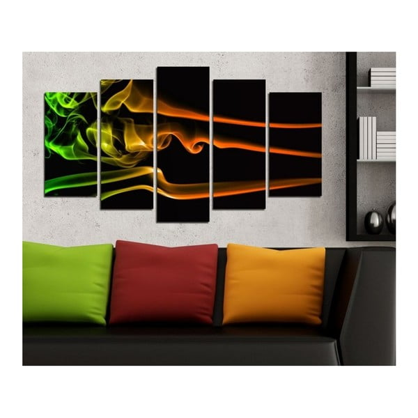 Obraz wieloczęściowy 3D Art Galiyado, 102x60 cm