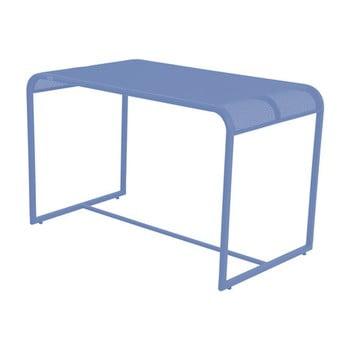 Masă de balcon metalică ADDU MWH, 63 x 110 cm, albastru