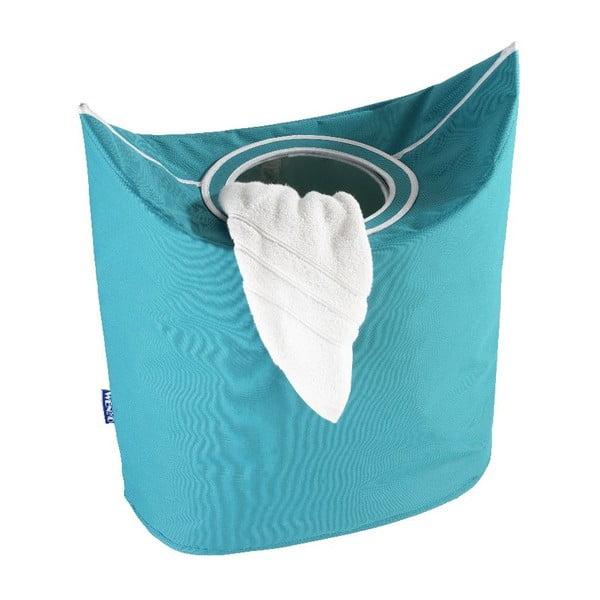 Modrý koš na prádlo Wenko Donkey, 48 l