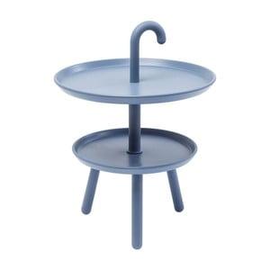 Šedý odkládací stolek Kare Design Jacky, ⌀42cm