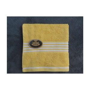 Ručník Rio Positive Yellow/White Stripes, 30x50 cm