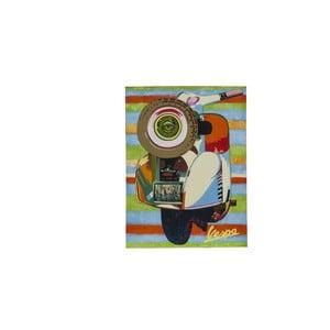 Plátno Vespa, 60x80 cm