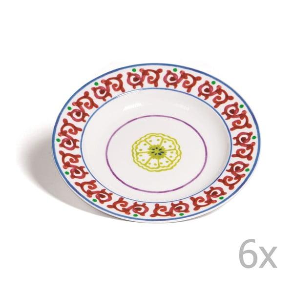 Sada 6 polévkových talířů Toscana Pienza, 22.5 cm