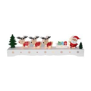 Svítcí LED dekorace Best Season Rudolf