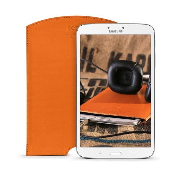 Kožený obal na tablet Samsung Galaxy 8.0 (Tab 3, 4) Cognac