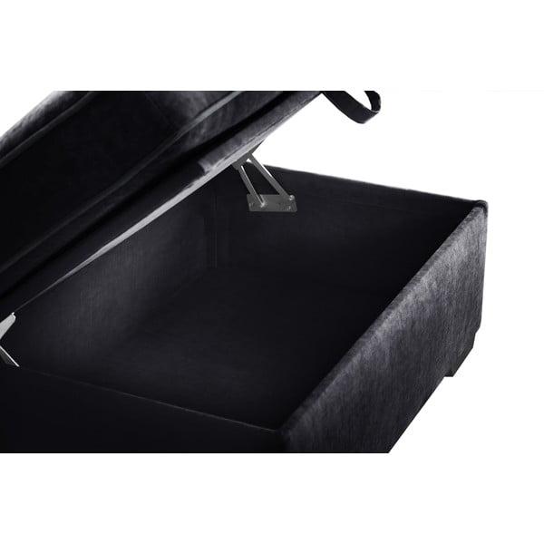 Taburetka Jalouse Maison Serena, černá