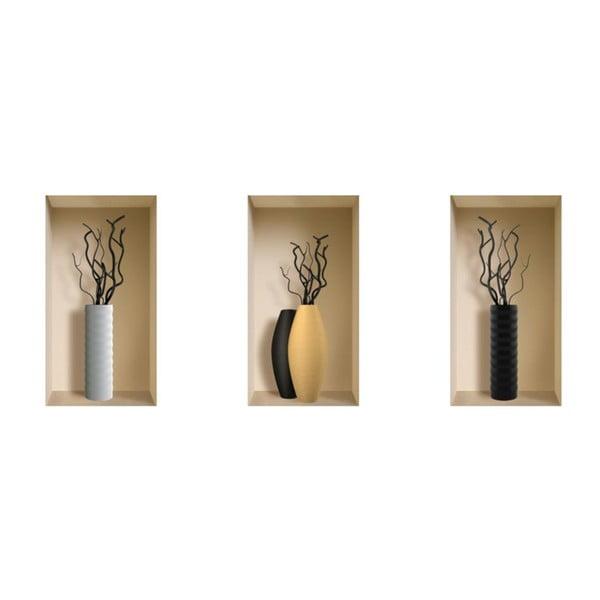 Autocolant 3D Vases Lugano