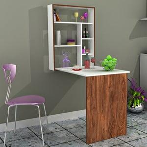 Pracovní stůl Minar Magicbox Walnut