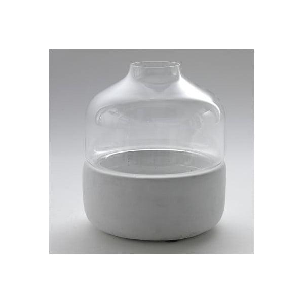 Váza Glass Stone, 23x26 cm