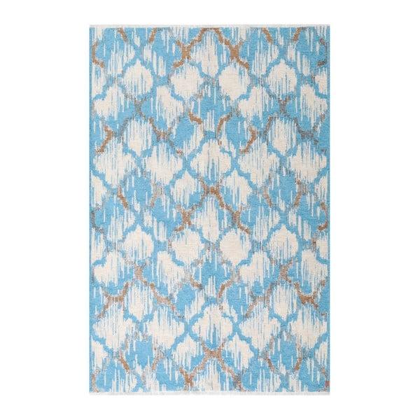 Covor reversibil Homemania Marama, 120 x 180 cm, maro-albastru