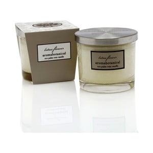 Lumânare din ceară de palmier cu aromă de vanilie Ego Dekor, Glass, durată de ardere 16 ore