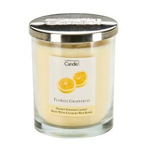 Aroma svíčka Copenhagen Candles  Grapefruit, doba hoření 40 hodin