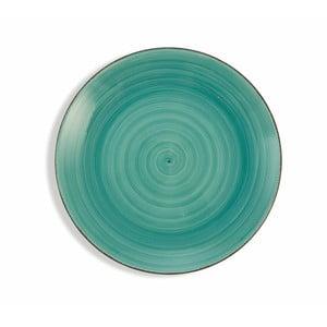 Sada 6 tyrkysově modrých talířů Villa d´Este Baita, ø 19 cm