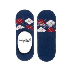 Barevné nízké ponožky Funky Steps Polo Cube, velikost 35 – 39