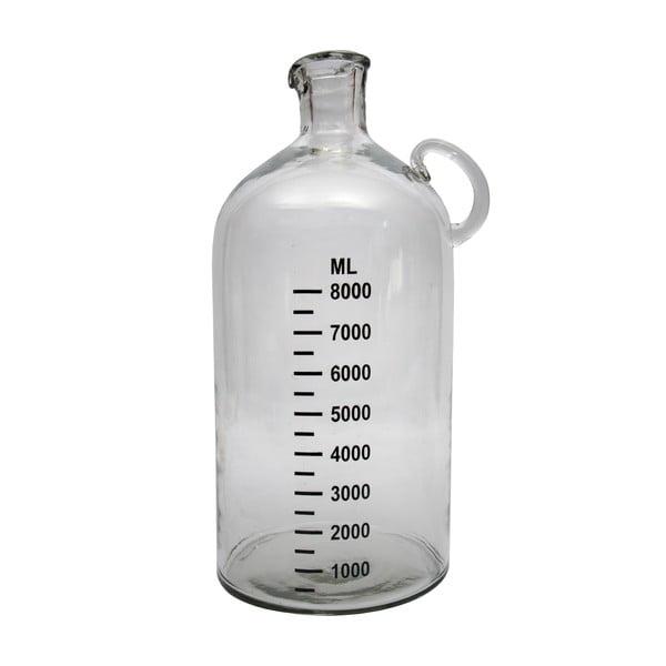 Skleněná lahev Milimetres, 8 l