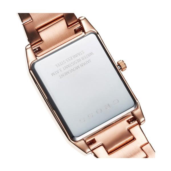 Pánské hodinky Cross Gotham Rose Gold, 33x38 mm