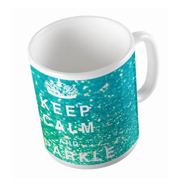 Keramický hrnek Keep Calm, 330 ml