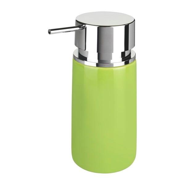 Dozator din ceramică pentru săpun Wenko Soap, 250 ml, verde
