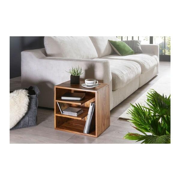Příruční stolek z masivního palisandrového dřeva Skyport Wohnling Surnar, výška 43 cm
