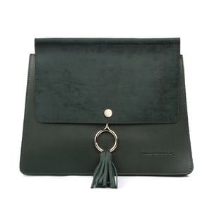 Zelená kabelka z eko kůže Beverly Hills Polo Club Sylvia