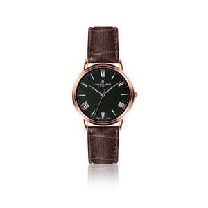 Pánské hodinky s hnědým páskem z pravé kůže Frederic Graff Monch