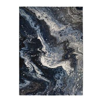 Covor Universal Kael Malo, 60 x 120 cm, albastru închis imagine