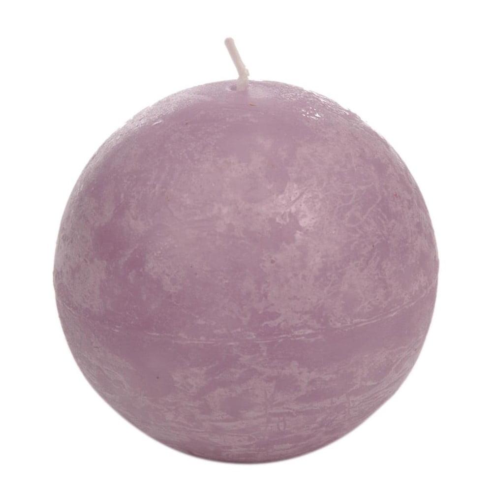 Levandulově fialová svíčka J-Line Globe