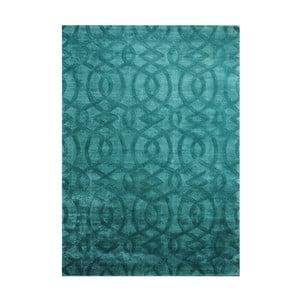 Ručně vyráběný koberec The Rug Republic Sparko Teal, 160 x 230 cm