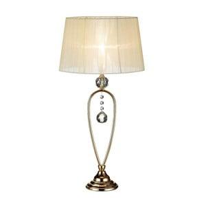 Krémová stolní lampa Markslöjd Christinehof
