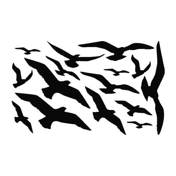 Sada 15 samolepek Ambiance Seaguls