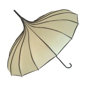 Krémově bílý deštník Soak Bebeig