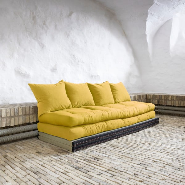 Canapea modulară Karup Chico Amarillo
