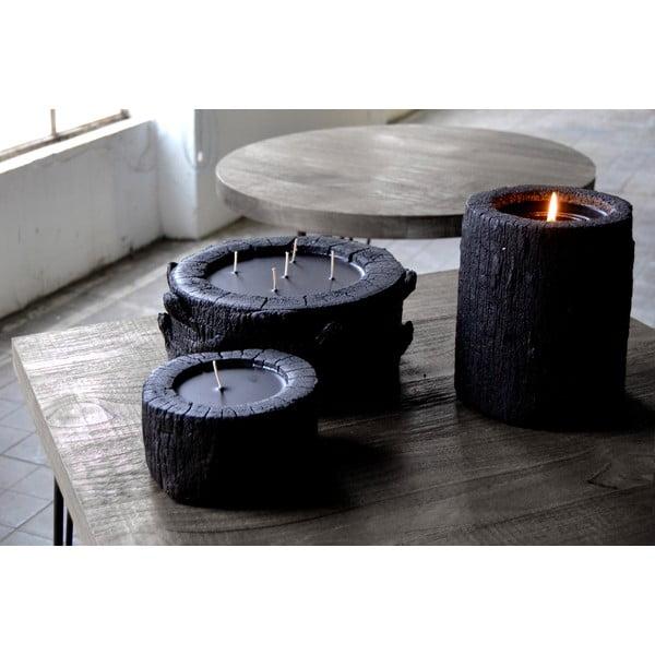 Palmová svíčka Legno Palma s vůní vanilky a pačuli, 40 hodin hoření
