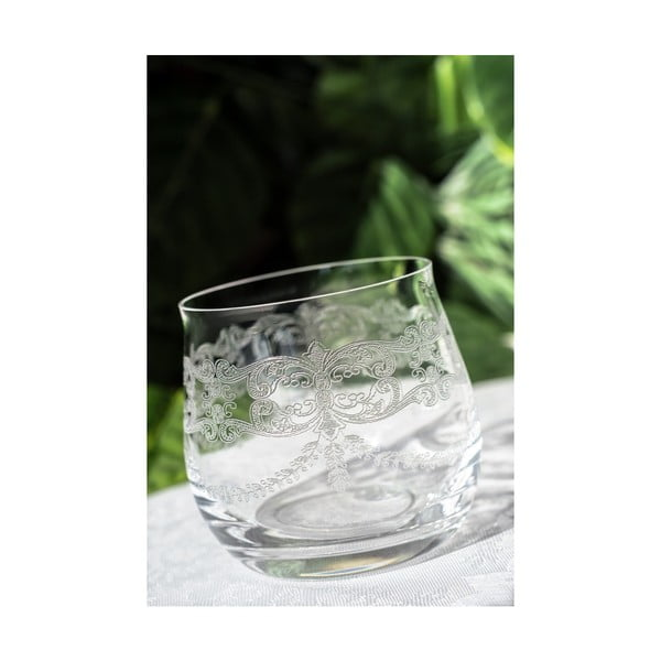 Sada 6 skleněných skleniček Samuel