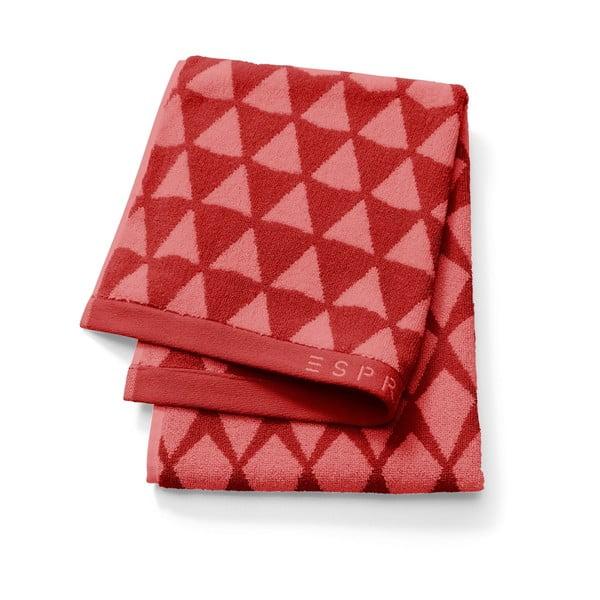 Ručník Esprit Mina 30x50 cm, červený