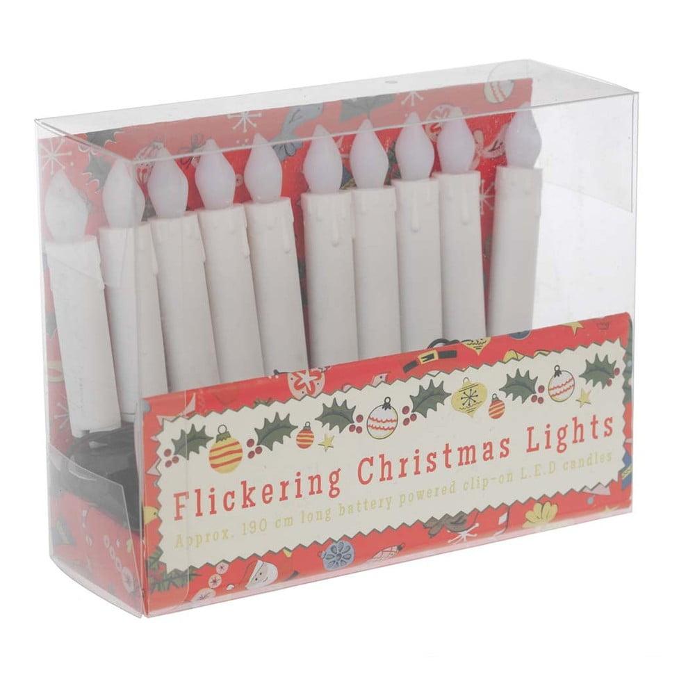 Světélkující vánoční řetěz Rex London Candle