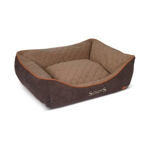 Psí pelíšek Thermal Bed 60x50 cm, hnědý